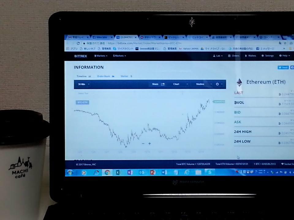 ブログ運営の合間に仮想通貨取引!?
