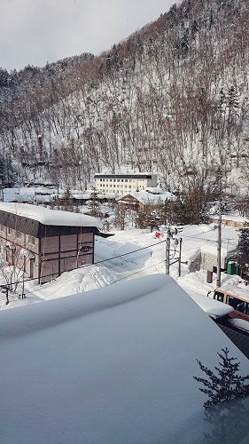 定山渓温泉ふる川2月