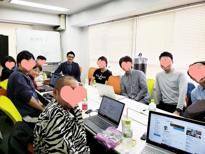 仮面ブロガーズ勉強会in品川「LINE@を組み込んで月収330万円」